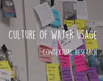 Contextual research: Culture of water usage in Savannah