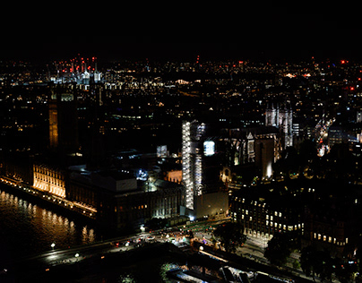 #63 London at Night, a View from the London Eye