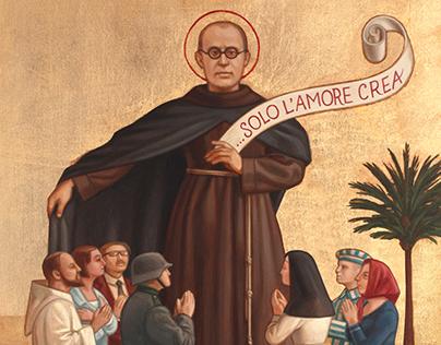 Vaticano Postage Stamp, Kolbe
