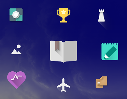 YotaPhone2 apps icons set