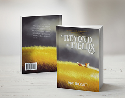 Beyond the fields - book cover design