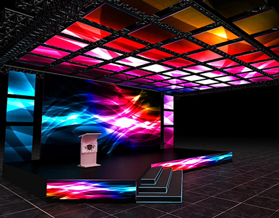Ceiling LED Stage
