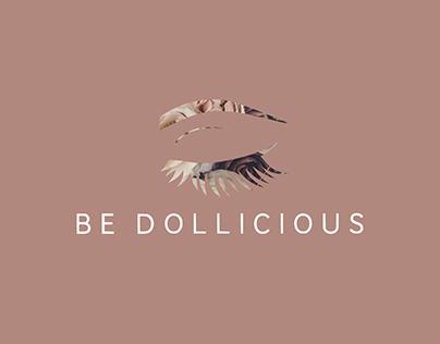 Be Dollicious - Makeup Artist Logo