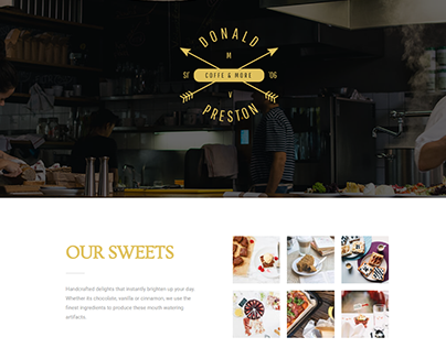 Home Page-Restaurant page