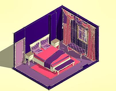 Bedroom- isometric test