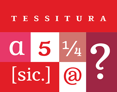 Tessitura font