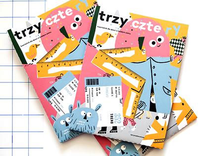 Trzy czte ry magazine cover