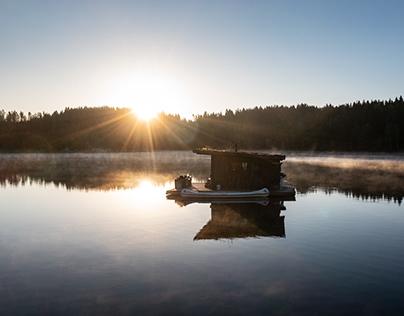 Naturbyn in Sweden