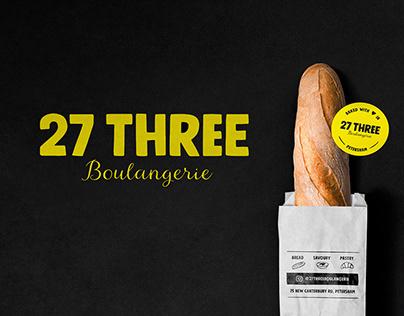 27THREE BOULANGERIE - Branding
