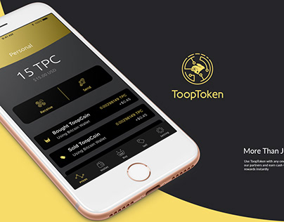 Crypto Currency - ToopToken