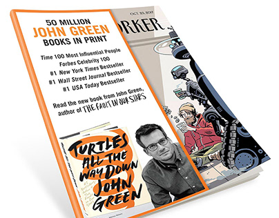 Turtles All the Way Down by John Green — 360 campaign