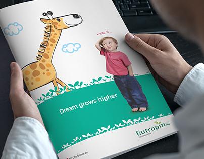 LG - UNIPHARMA - brochure design Eutropin