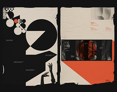 Typo Visceral | Poster Collection