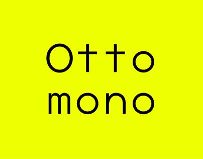 Ottomono — Custom Font