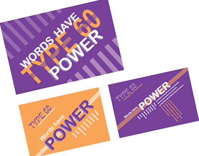 Typography: Postcards