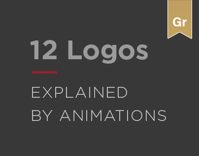 Logo Collection: 12 Logos Explained by Animations.