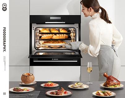 大家电摄影 | BOSCH博世烤箱oven ✖ foodography