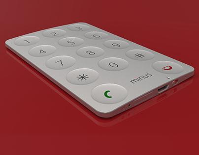 MINUS Emergency Card Phone