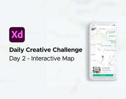 PhotoOpp Interactive Map - XD Creative Challenge