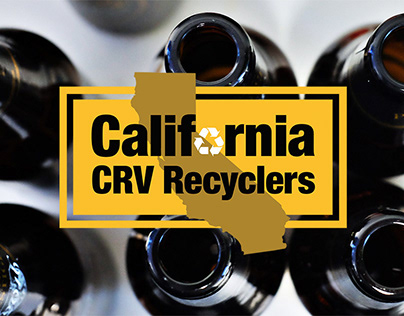 Website and Logo for California CRV Recyclers