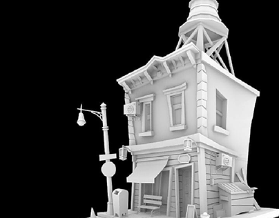 3d house modeling, 3ds max