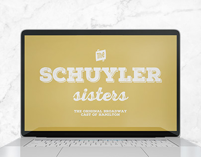 Kinetic Typography - The Schuyler Sisters