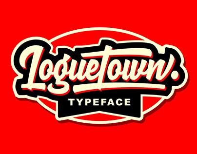 LOGUETOWN - FREE BRUSH SCRIPT FONT