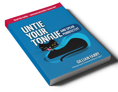 "Book design ""Untie your tongue"""