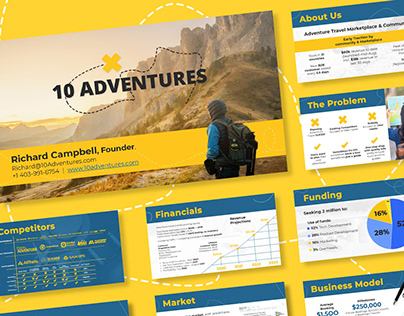 10Adventures | Pitch Deck