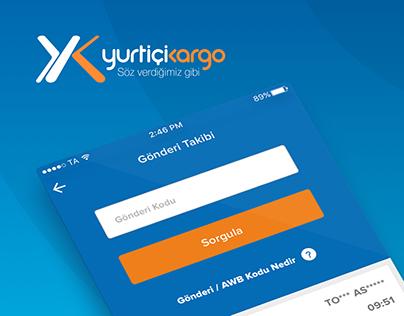 Yurtiçi Kargo Mobile UI/UX Design