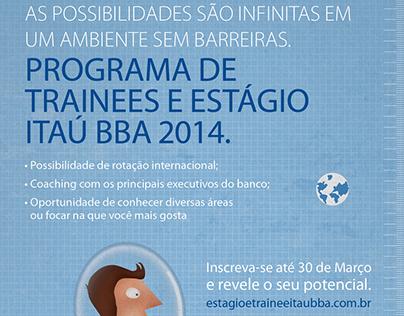 Itaú BBA Trainee and Internship Program
