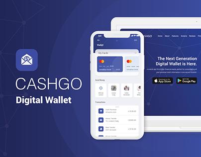 CashGo Digital Wallet - UX/UI for App & Web