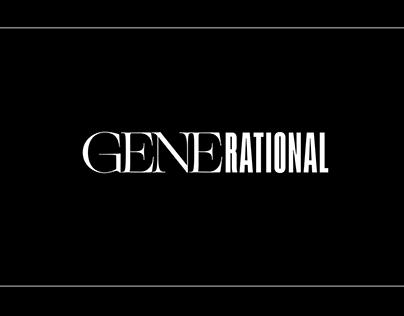 Generational | Fashion Editorial