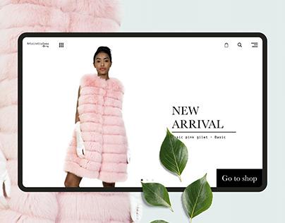 Antoinettedema | Website concept