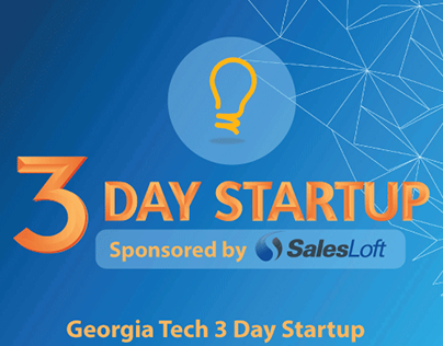 Georgia Tech 3 Day Startup Flyer