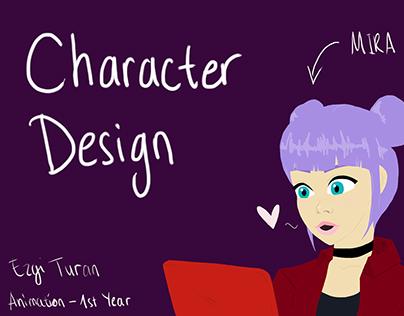 "Character Design - ""Mira"""