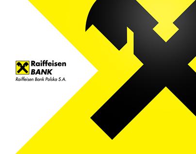 Raiffeisen Bank - banner ads, landing page