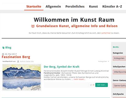 Sinn Suche Kunst Blog Logo