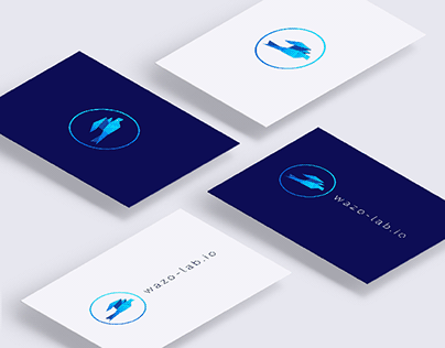 wazo-lab brand identity