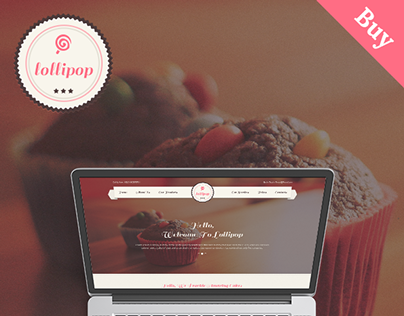 Lollipop - Awesome Sweets & Cakes Template