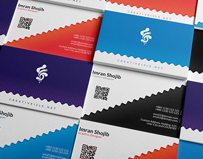 Business Card Design Concept