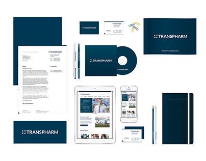 Transpharm – Corporate Design