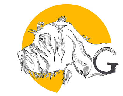 Griff LLC Hand Drawing Logo
