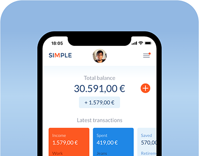 Banking Mobile App - Visual Design