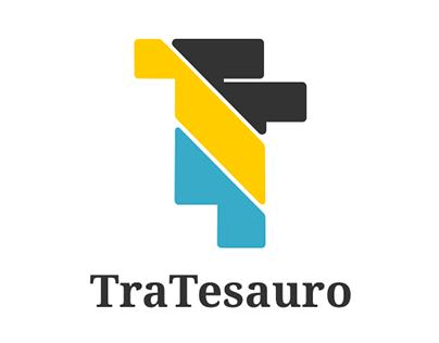 TraTesauro logo & website design