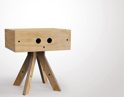 kross side table
