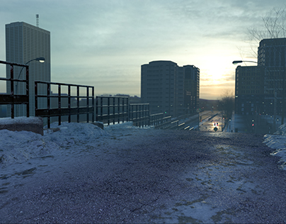 Realistic Environment Creation with 3d