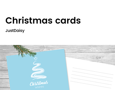 Christmas cards   JustDaisy