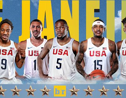 USA Basketball Graphic
