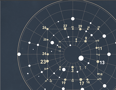 Starlit Calendar